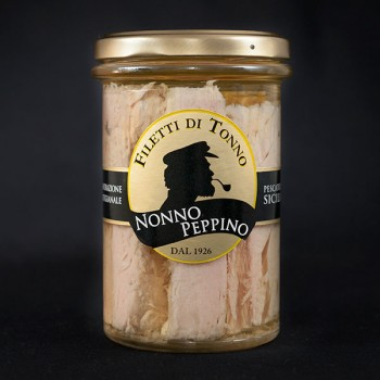 Filetti di Tonno all'olio di oliva 300g